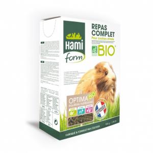 Repas Complet Bio - Hamiform - Pour  cochons d'Inde - boite de 900g