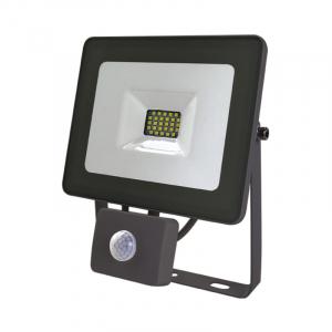 Projecteur extérieur LED Gris - avec détecteur - 30 W - 2640 Lumens