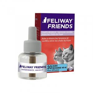 Recharge Feliway friends - Contre les conflits et le stress des chats - 48 ml