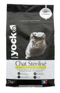Croquettes pour chat stérilisé - YOCK Nutrition - Poulet - 7 kg