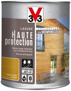 Lasure haute protection V33 - Chêne clair - 1 L