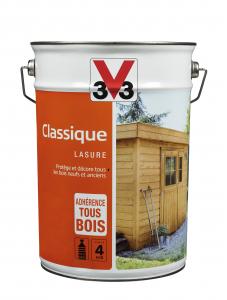 Lasure classique V33 - Chêne naturel - 5 L