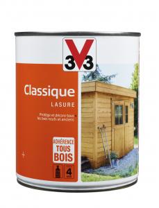 Lasure classique - V33 - Chêne clair - 1 L