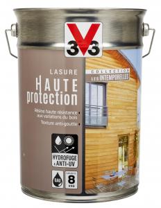 Lasure haute protection V33 - Acajou - 5 L