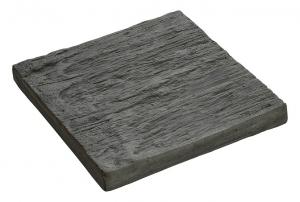 Pas carré aspect schiste Hairie Grandon - 23 x 23 cm