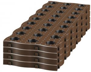 Dalles de potager Maxi Garantia - 70 x 24 cm - Lot de 4