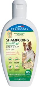 Shampoing insecticide pour chat et chien au monoï - 250 ml - Francodex