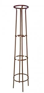 Tuteur colonne col évasé - Moulin Louis - fer vieilli - 200 cm