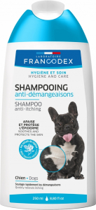 Shampooing anti-démangeaisons - Francodex - Pour chiens - Flacon de 250ml