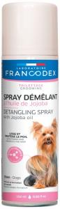 Spray démêlant à l'huile de jojoba - Francodex - Pour chiens - Spray de 250ml