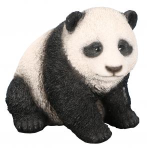 Panda bébé - Riviera System - 14 x 13 x 12 cm