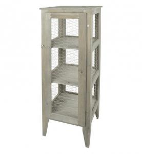 Armoire de jardin en pin - Esschert Design - 38,2 x 38,2 x 118 cm