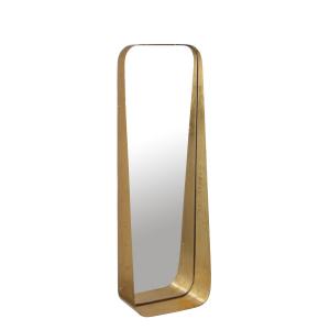 Miroir Agna doré - 61cm