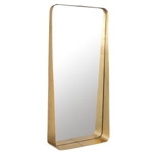 Miroir Agna doré - 76cm