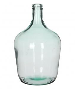 Bouteille Diego - Mica - Verre transparent - Ø 18 x 30 cm