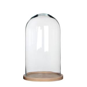 Cloche en verre décorative - 38cm