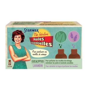 Coffret Huiles essentielles - Starwax The Fabulous - Eucalyptus / Lavandin - 2 x 10 ml