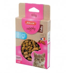 Friandises Mooky Delies Hygiène dentaire - Zolux - Pour chat - 60 g