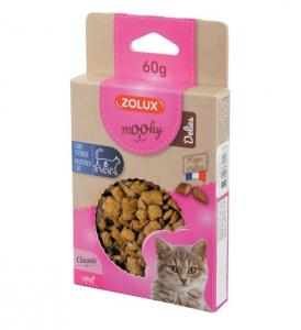 Friandises Mooky Delies Neutered - Zolux - Pour chat stérilisé - 60 g