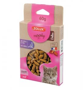 Friandises Mooky Delies Anti-Boules de poils - Zolux - Pour chat - 60 g