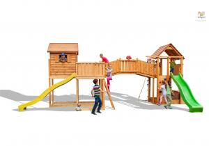 Aire de jeux Maxi Set Sized Plaza - Fungoo - Maxi station