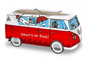 Van Combi Bretagne VW Galettes pur beurre - DV - 110 g