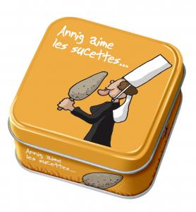 Caramel Annig aime les sucettes - DV - Boîte de 45 g