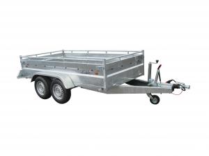 Remorque - Lider - Robust 38398 - 3m - 460 kg - 2 essieux