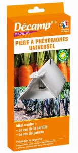 Piège universel phéromones contre ver carotte/teigne poireau Décamp' Radical - CREA