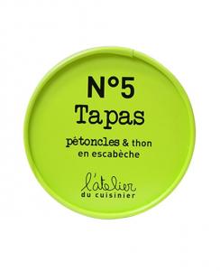 Tapas pétoncles & thon en escabèche - L'atelier du cuisinier - 100 g