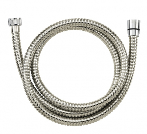 Flexible de douche double agraphe - Noyon & Thiebault - Chrome - 1,75 m
