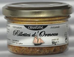 Rillettes d'Ormeau - Crustine - 160 g