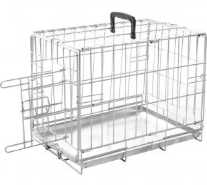 Cage métallique Kéo XS - Flamingo - 47 x 30 x 37 cm - 1 porte