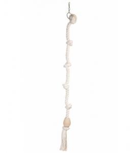 Pendentif corde Tarzan - Flamingo - Ø 5 x 100 cm - L