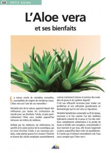 L'Aloe vera et ses bienfaits - Livre