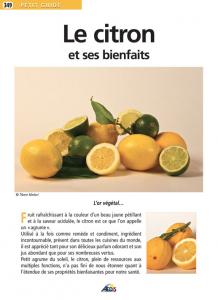 Le citron et ses bienfaits - Livre