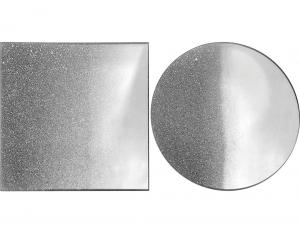 Assiette miroir rond / carré assortie - Kaemingk - Ø 20 cm / 20 x 20 cm - À l'unité