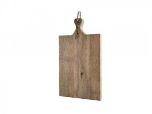 Planche à découper - Bois mangue - Naturel - 48x26,5x3,5cm