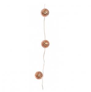 Guirlande boules leds - 110 cm - Cuivre