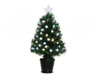 Arbre de Noël artificiel - 80 branches - Vert - Ø 45 cm - 90 cm
