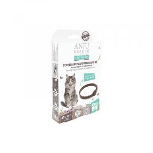 Collier Antiparasitaire Repulsif - AnjuBeaute - Pour  chats - 35cm