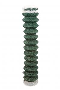 Grillage vert simple torsion compacté et plastifié FILIAC - 2.4mm x L 25m x H 2m