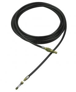 Câble de débouchage de canalisations pour nettoyeur haute pression - Nilfisk - Noir - 8 m