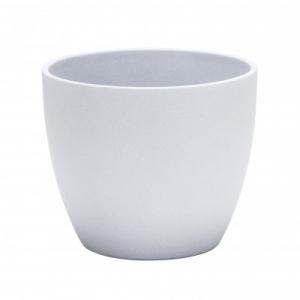 Cache-pot 920 - Deroma - grey stone - Ø 28 cm