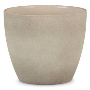 Cache-pot 920 - Deroma - taupe stone - Ø 19 cm