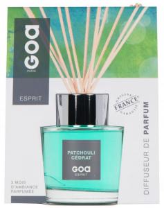 Diffuseur de parfum d'ambiance - Patchouli cédrat