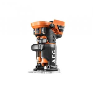 Affleureuse Brushless 18 V - AEG - BOF18BL-0 sans batterie ni chargeur