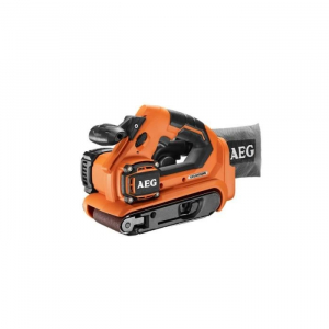 Ponceuse à bande Brushless 18 V - AEG - BHBS18-75BL-0 sans batterie ni chargeur