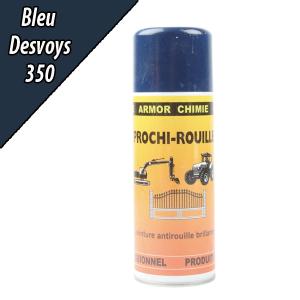 Laque aérosol Prochi-rouille bleu Desvoys - Armor chimie - 400 ml