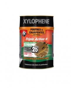 Traitement des poutres et charpentes - Xylophène - PPG - Bidon de 20 L